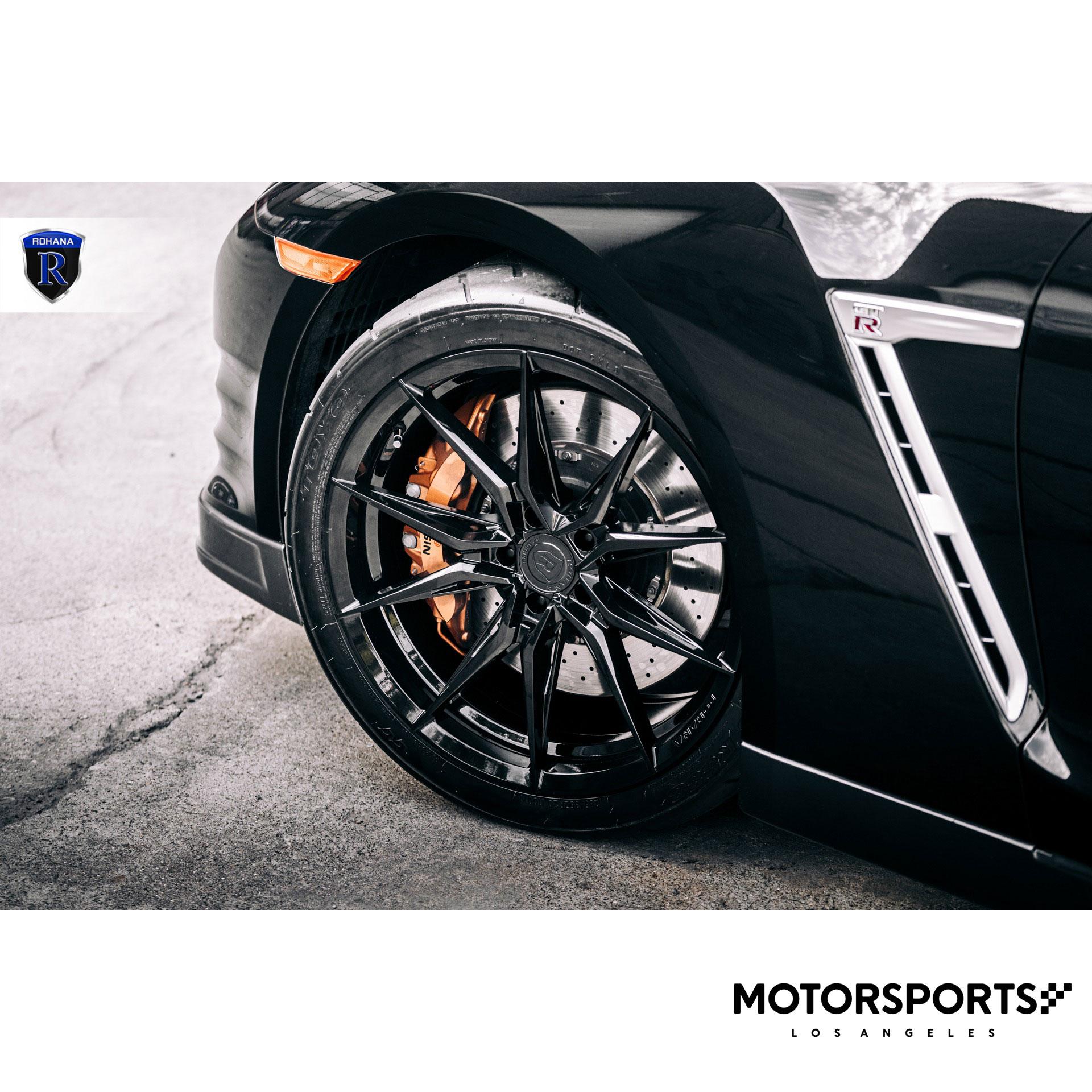 """20"""" Rohana RFX13 Brushed Titanium Wheels For Acura ILX TLX"""